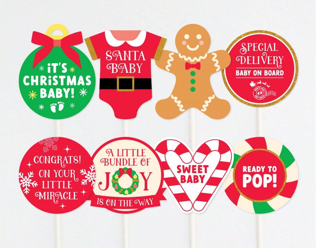 CHRISTMAS BABY SHOWER